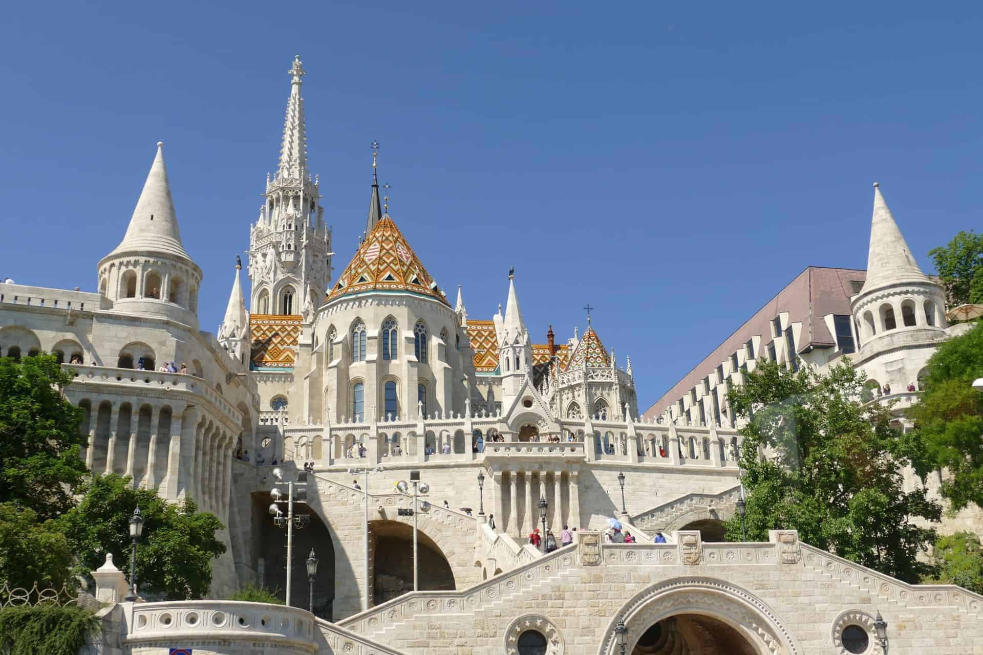 Budapest, Hungary gothic revival architecture