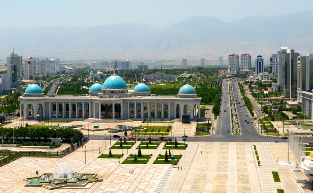 President palace, Ashgabat, Turkmenistan