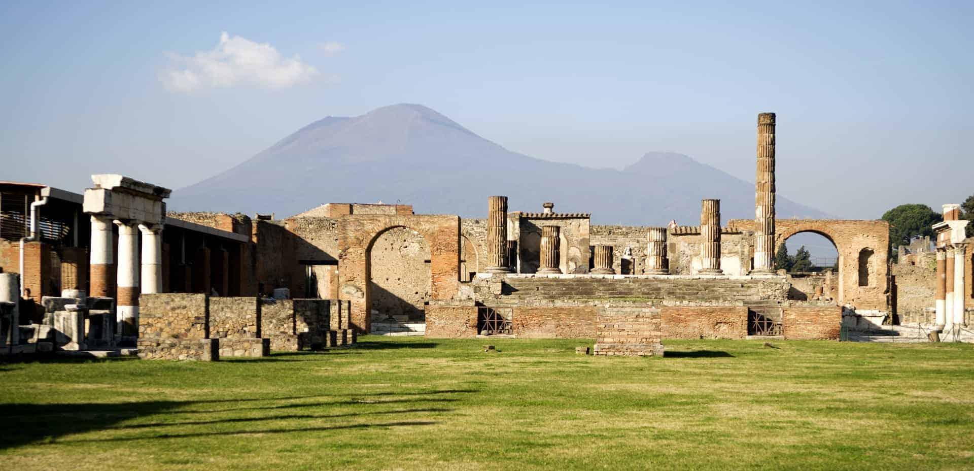 Pompeii, Mount Vesuvius, Italy