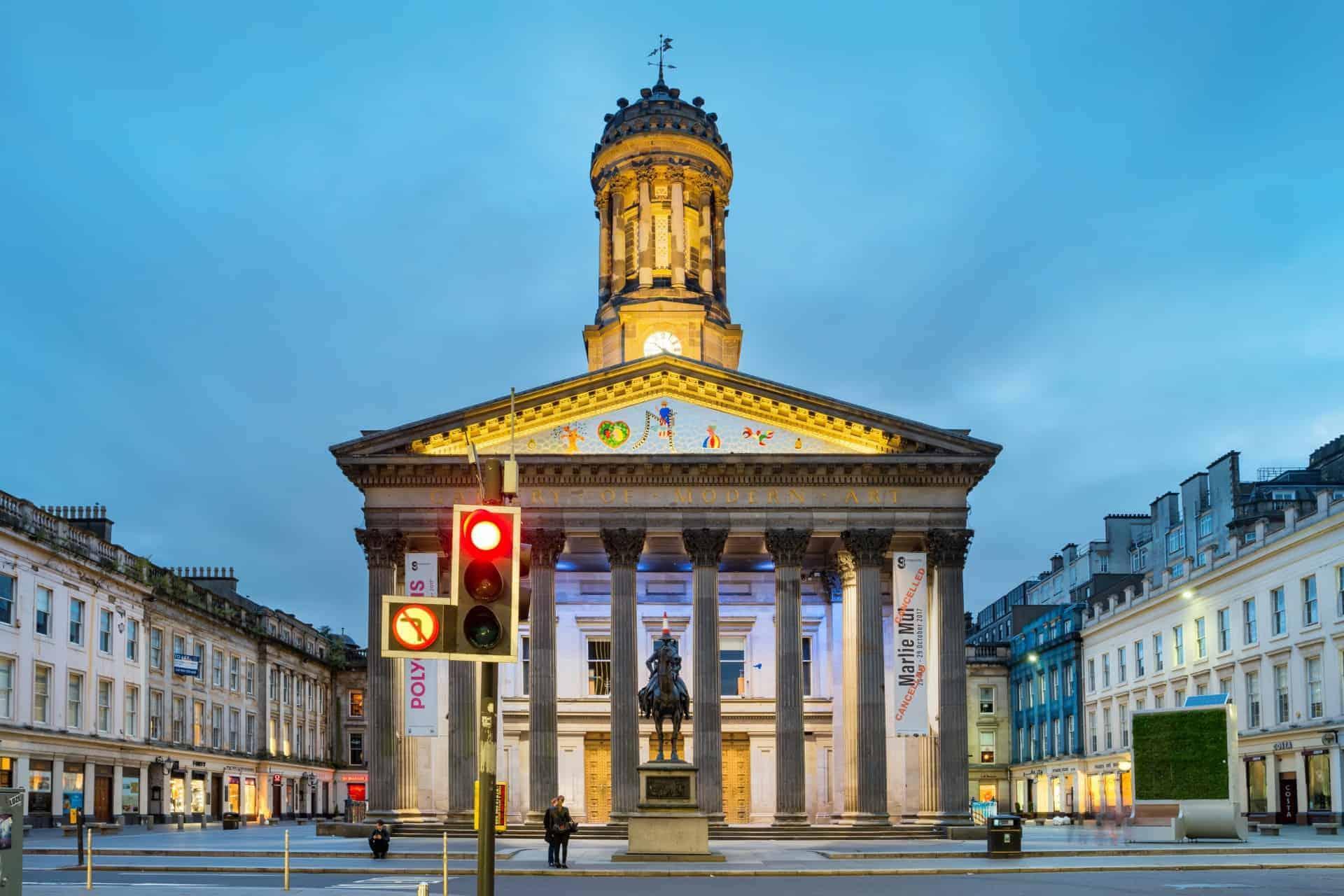 Glasgow's Gallery of Modern art
