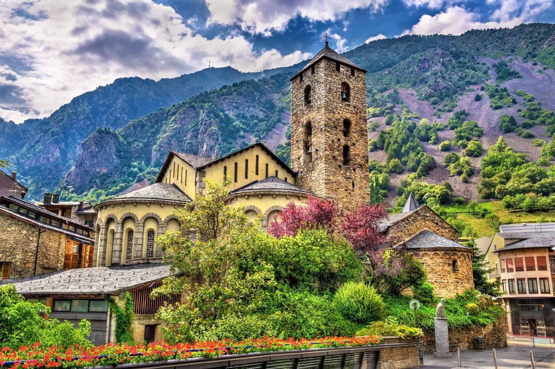 Sant Esteve Church in Andorra la Vella