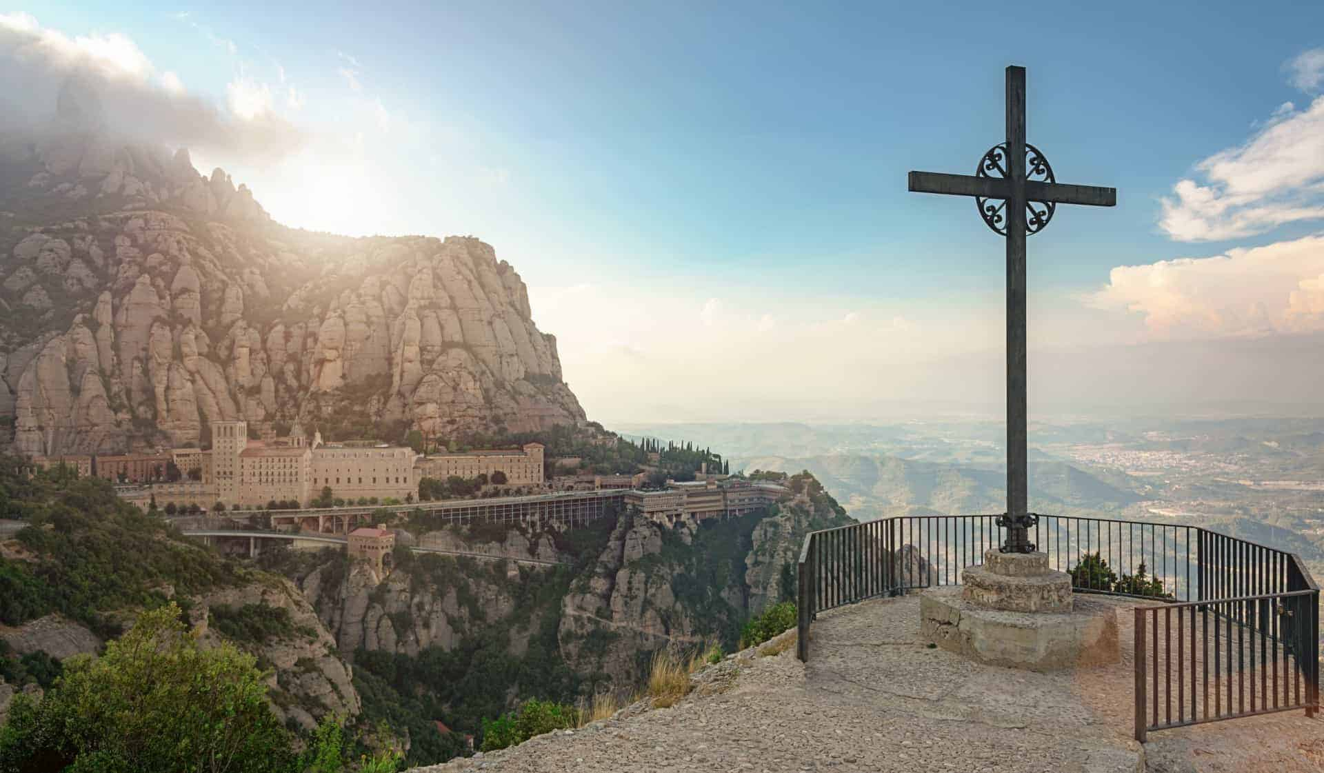 Montserrat Mountain Catalonia, Spain.