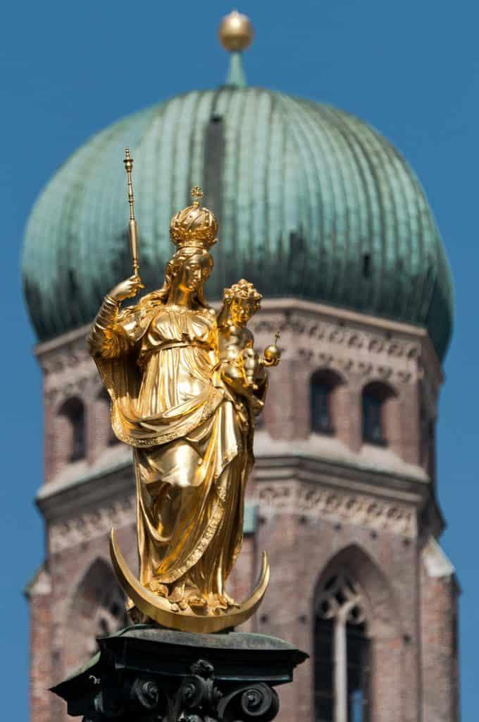 Munich Frauenkirche our Lady in Munich