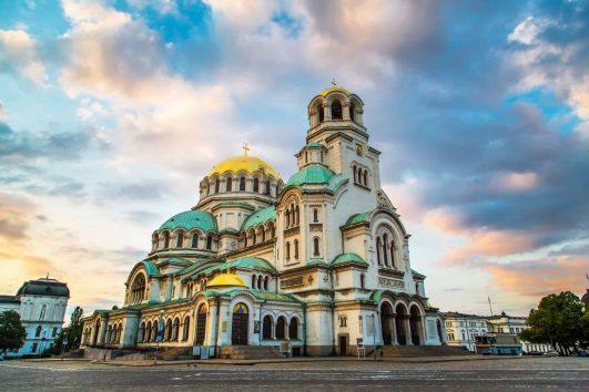 St. Alexander Nevski Cathedral in Sofia, Bulgaria