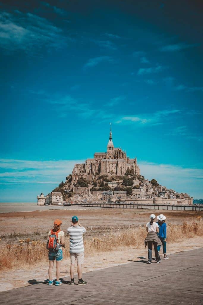 Mont-Saint-Michel, a pilgrimage destination