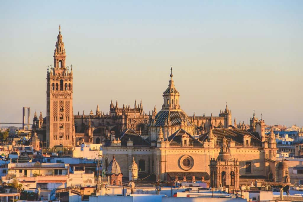 The Seville Cathedral, or the Cathedral of Saint Mary of the See