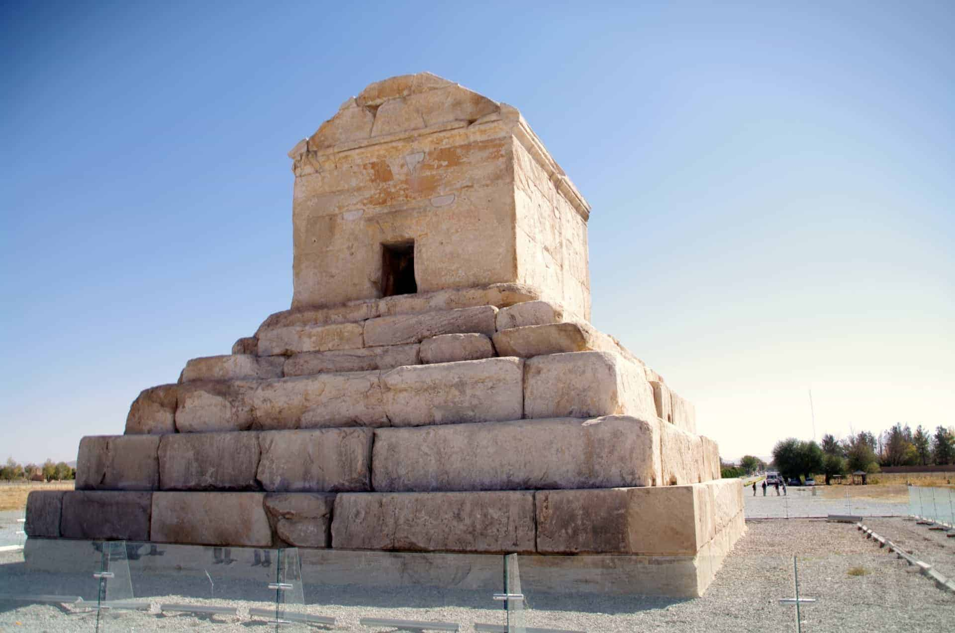 Tomb of Cyrus the Great -Pasargadae