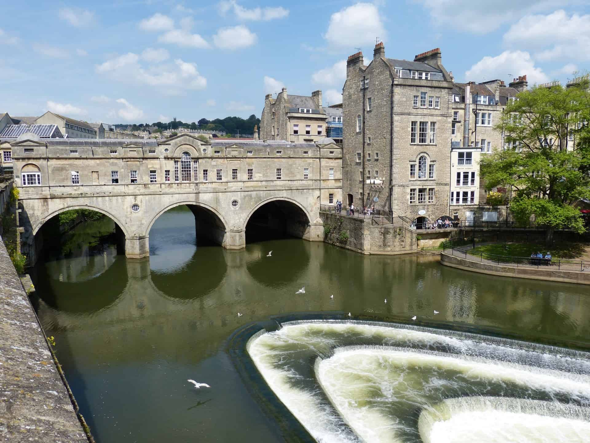 UK bridge Avon river