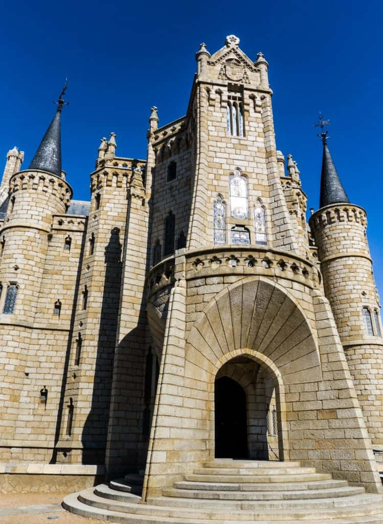 The Episcopal Palace designed by Gaudi
