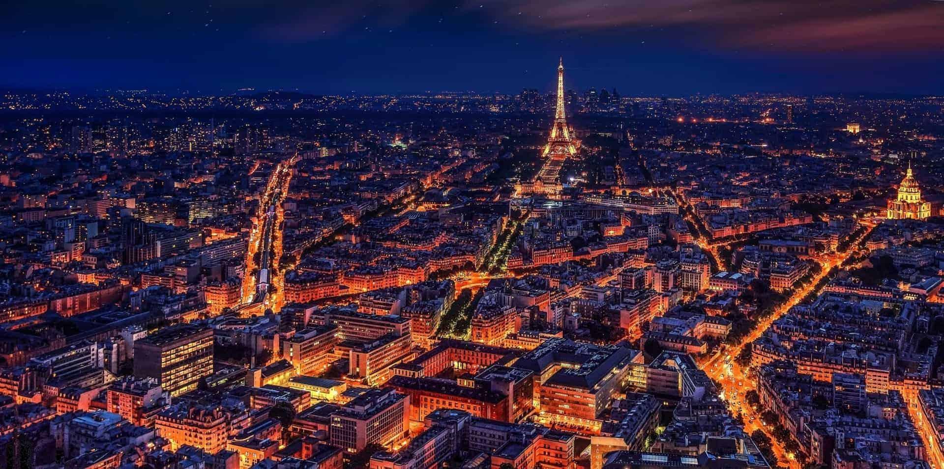 Modern-day Paris