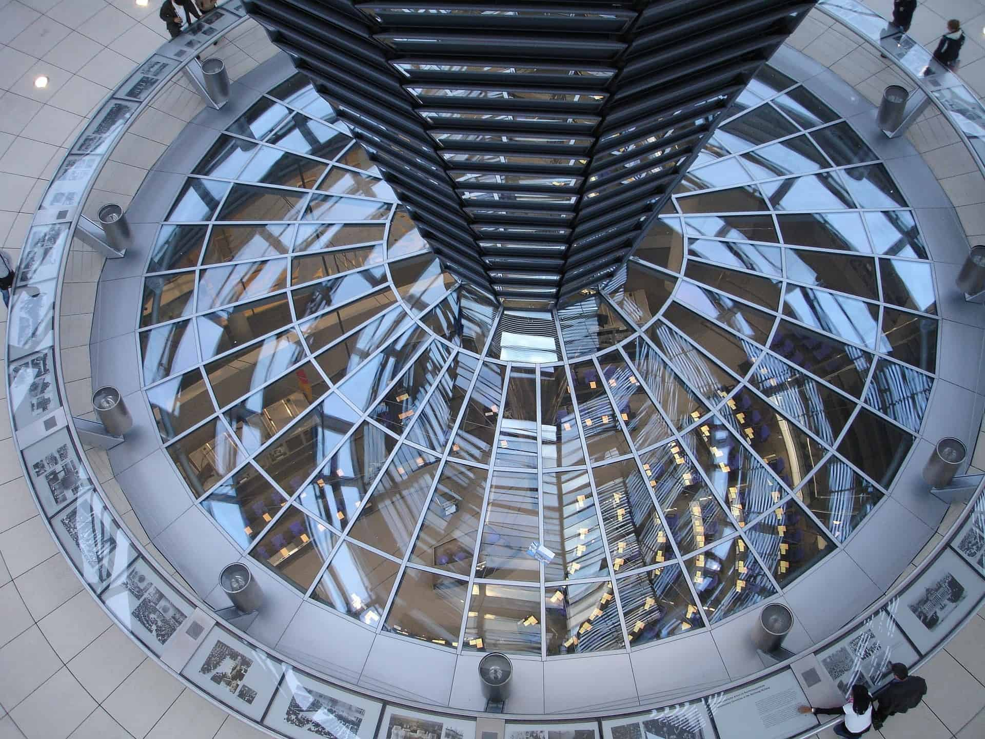The Reichstag's glass dome