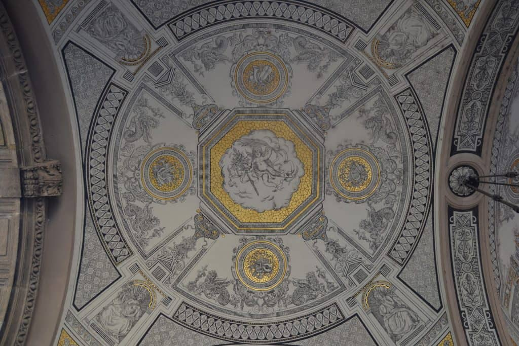 Ceiling detail, Hungarian State Opera House