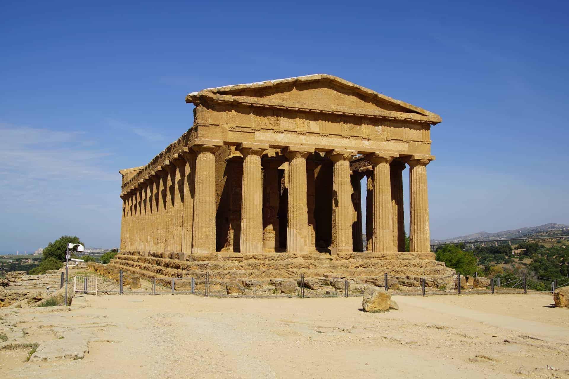 Vallei Dei Templi in Agrigento