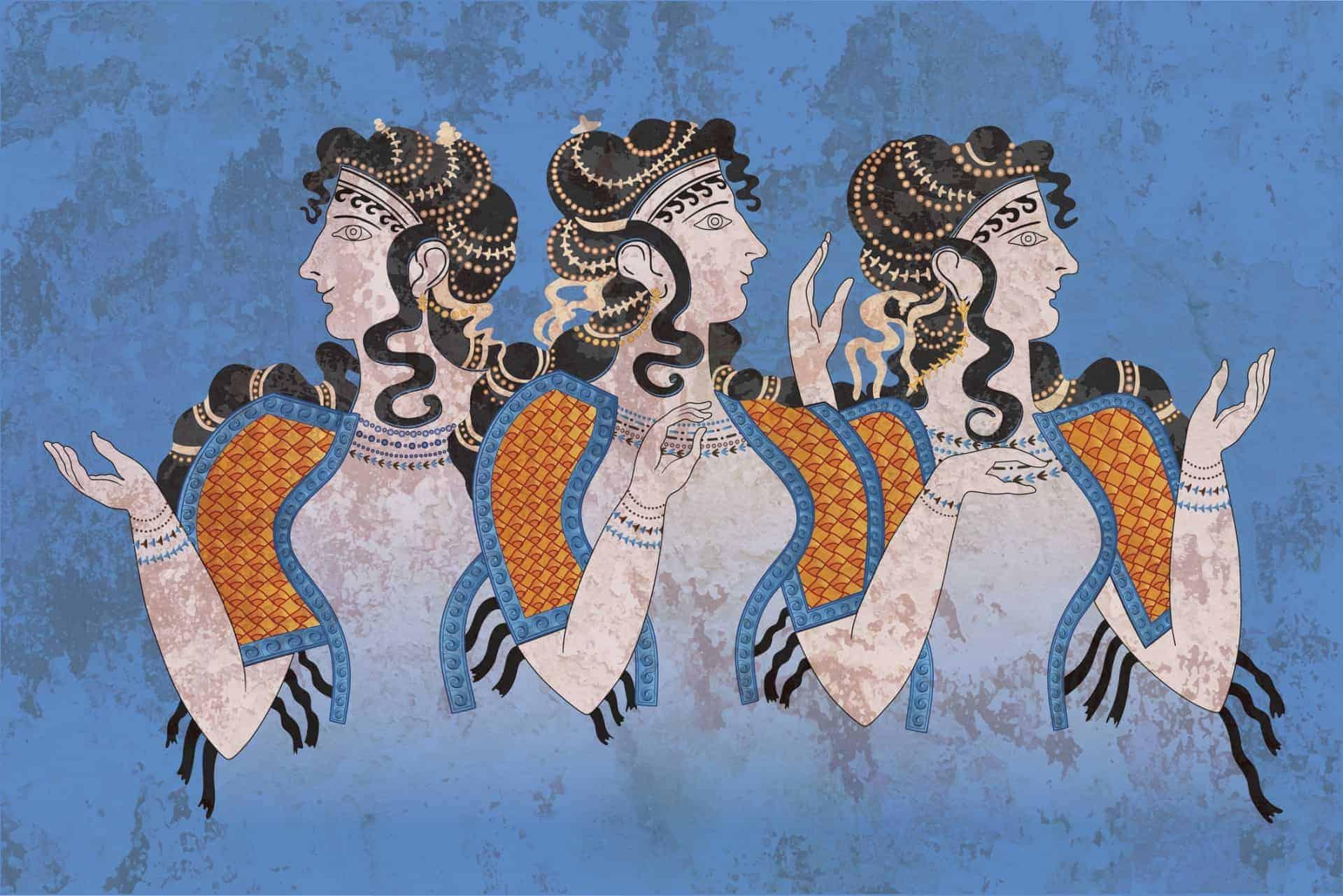 Knossos Santorini Minoan