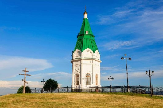 Payanitsa chapel Krasnoyarsk