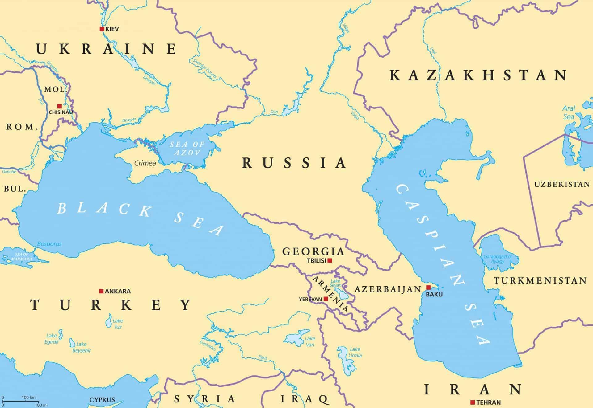 Image of: Armenia Azerbaijan Georgia The Caucasus Odyssey Traveller Tour
