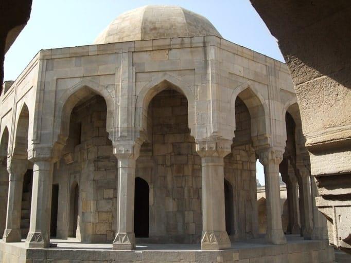 The Divan-khana of Shirvanshahs Palace, Baku, Azerbaijan