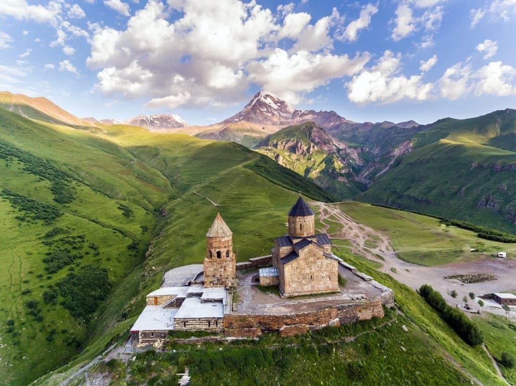 The stunning Georgian landscape