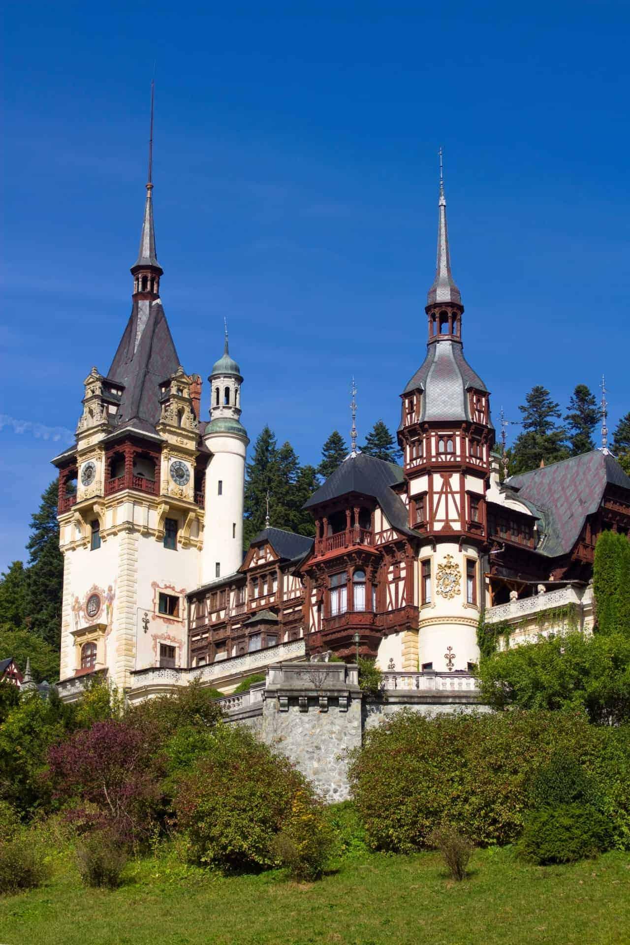 Peleş Castle in Romania
