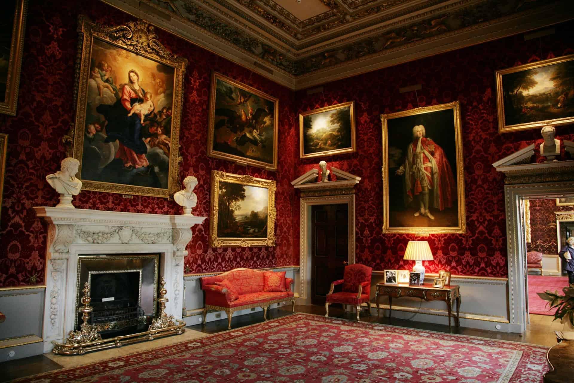 Holkham Hall interior