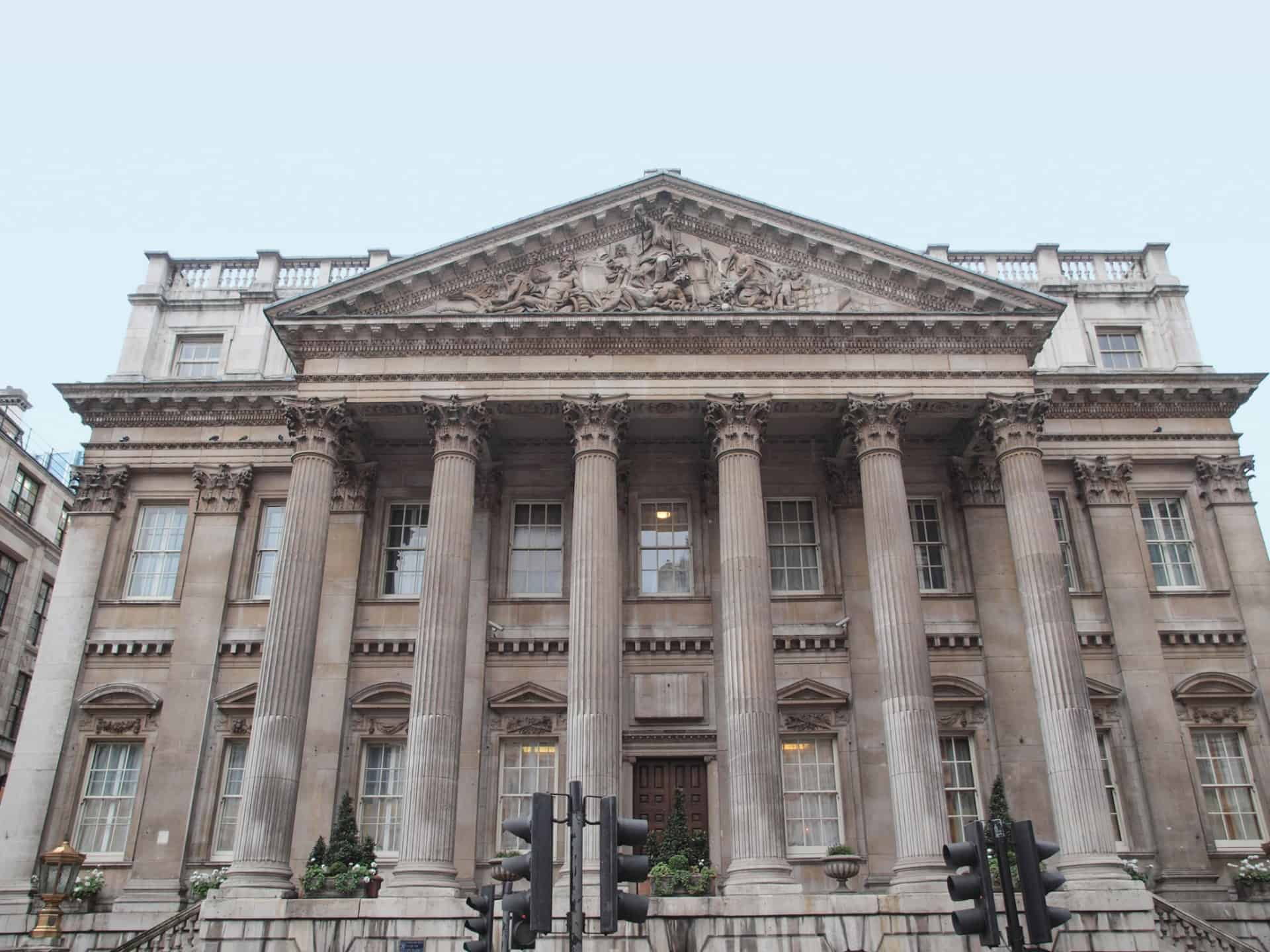 Mansion House in London