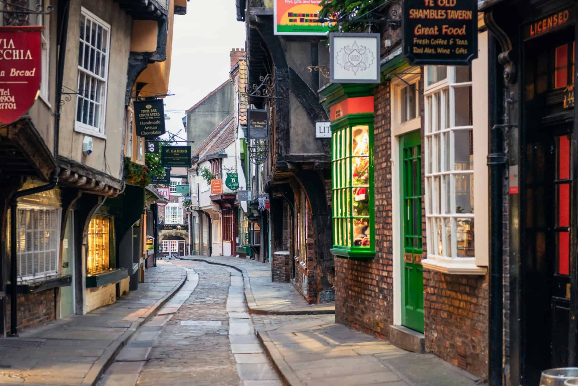 The Shambles York England