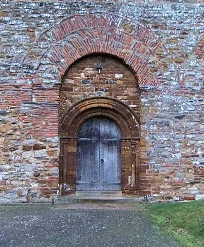 Brixworth church, the south door