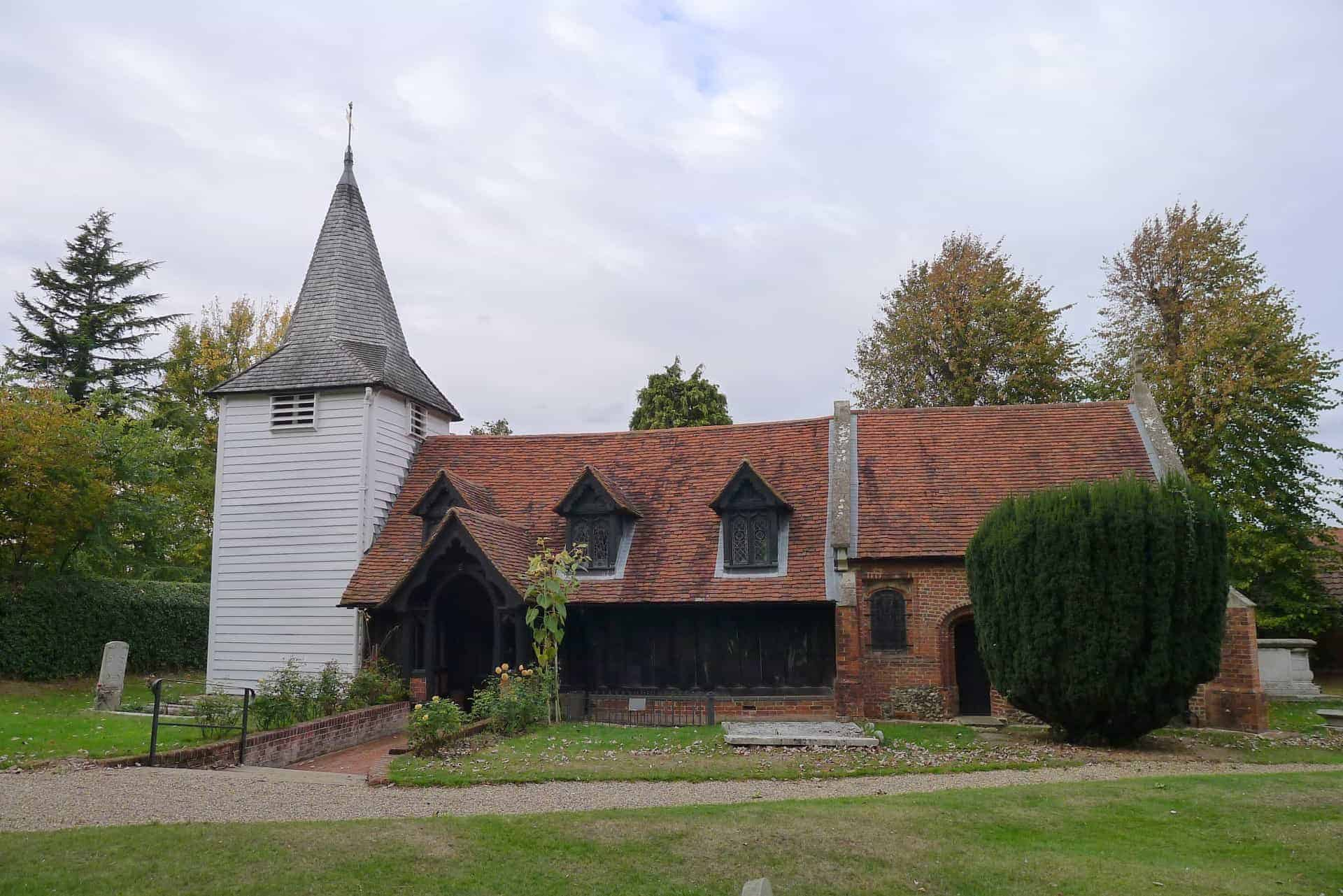 Church of St Andrew in Greensted