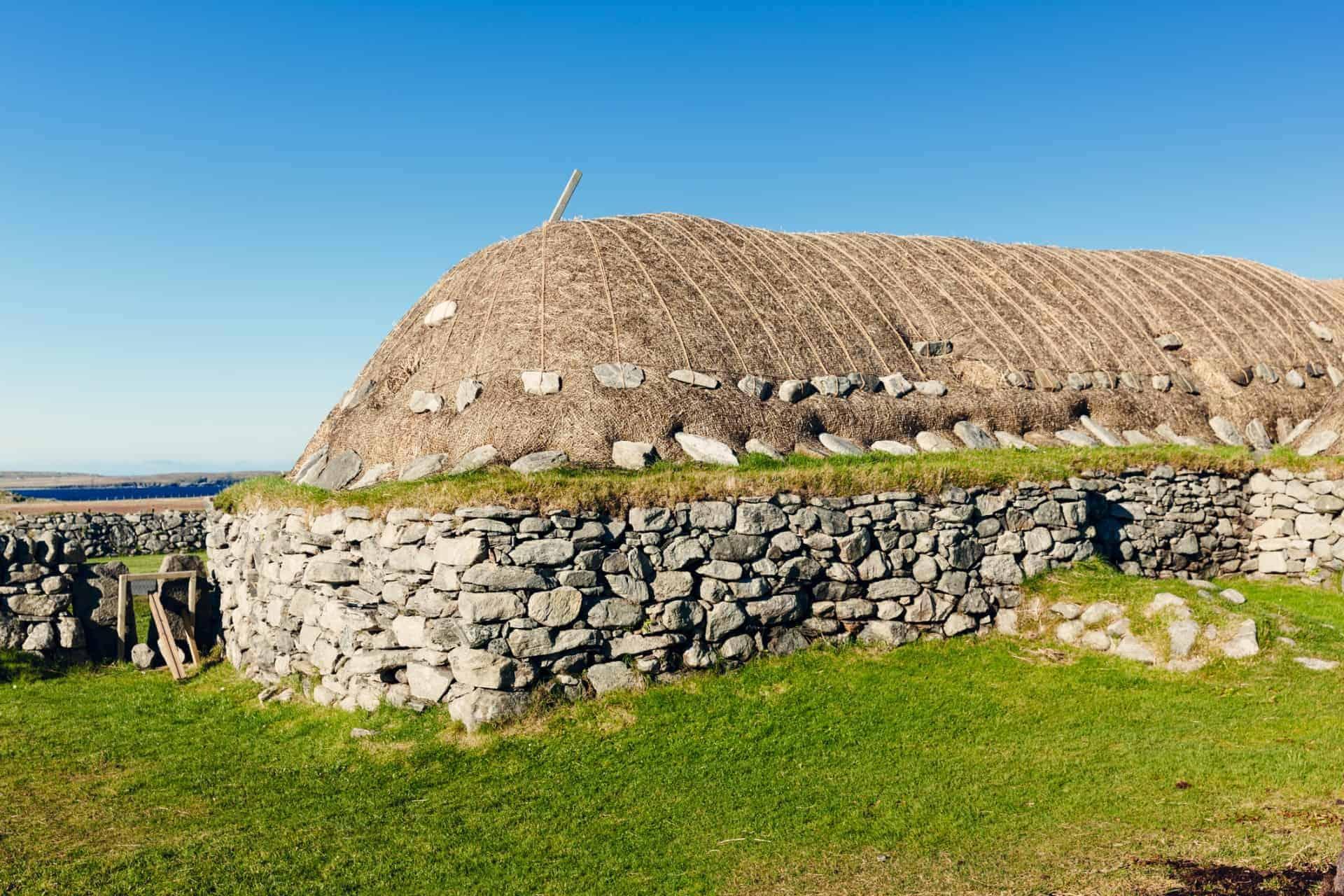 Arnol Blackhouse Lewis Outer Hebrides Scotland