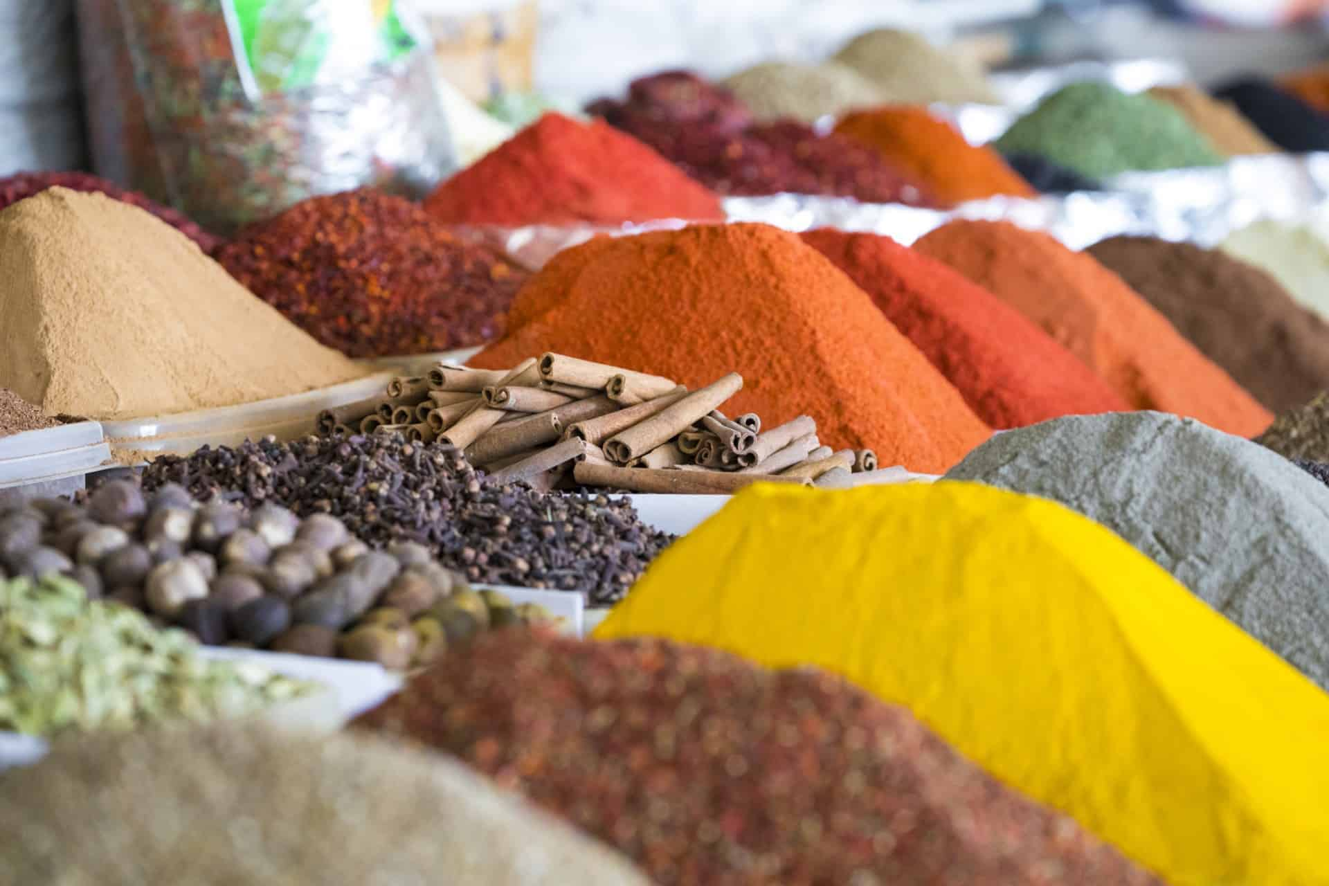 Spices in Tashkent