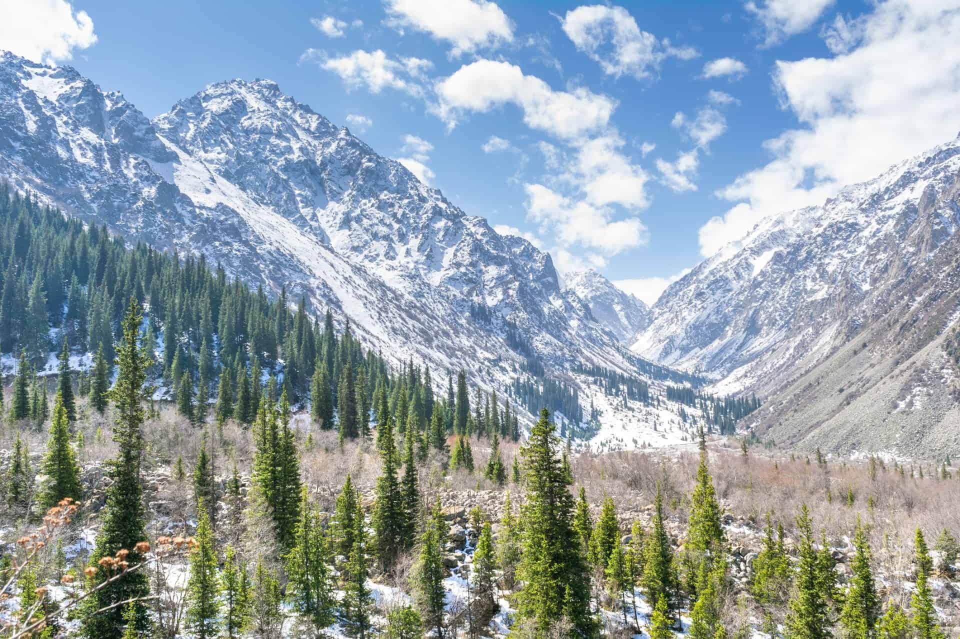 Ala-Archa National Park in Kyrgyzstan
