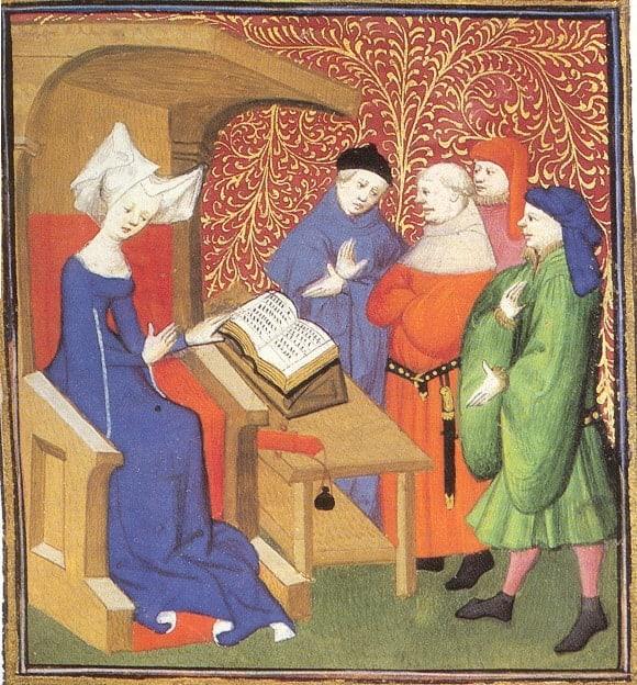 Christine de Pizan Renaissance women