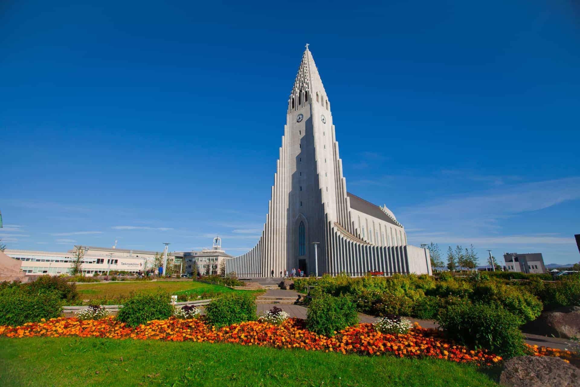 Hallgrímskirkja in Iceland
