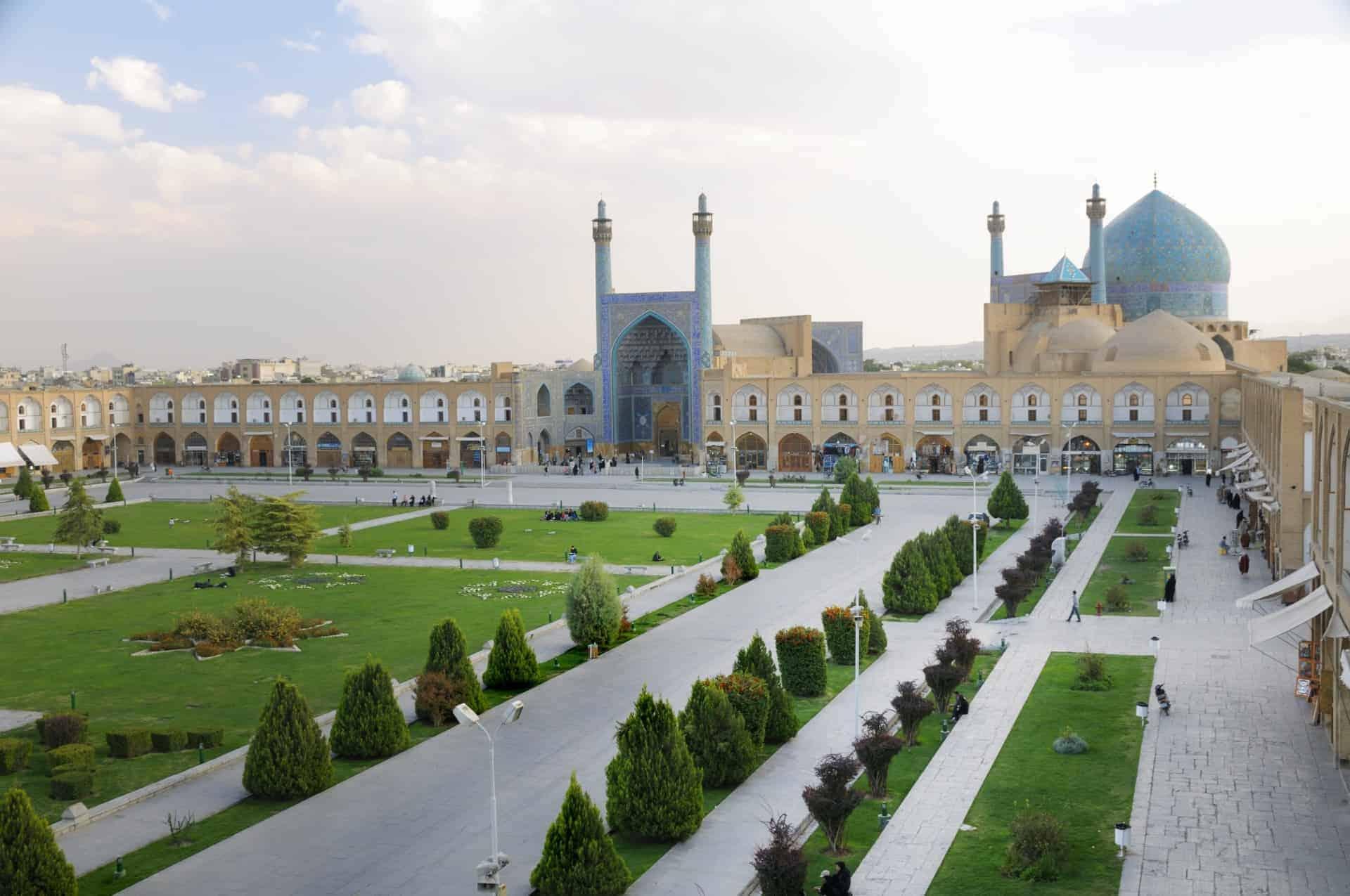 Naghsh-i Jahan Square, Isfahan, Iran