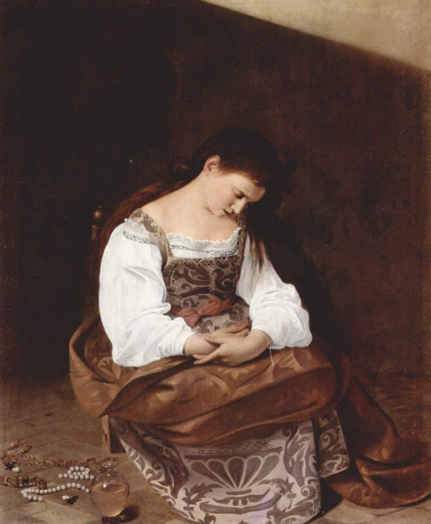 Repentant Magdalene Caravaggio