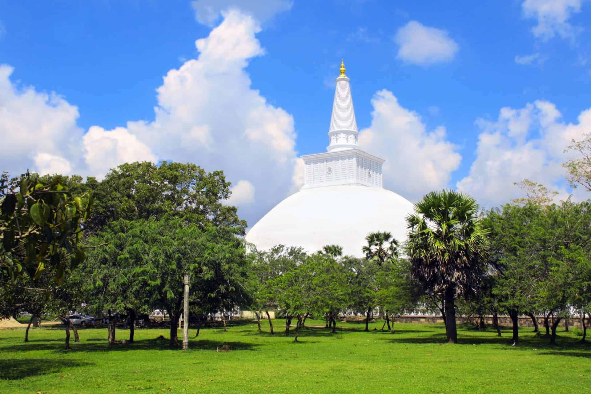 Ruwanwelisaya in Anuradhapura Sri Lanka