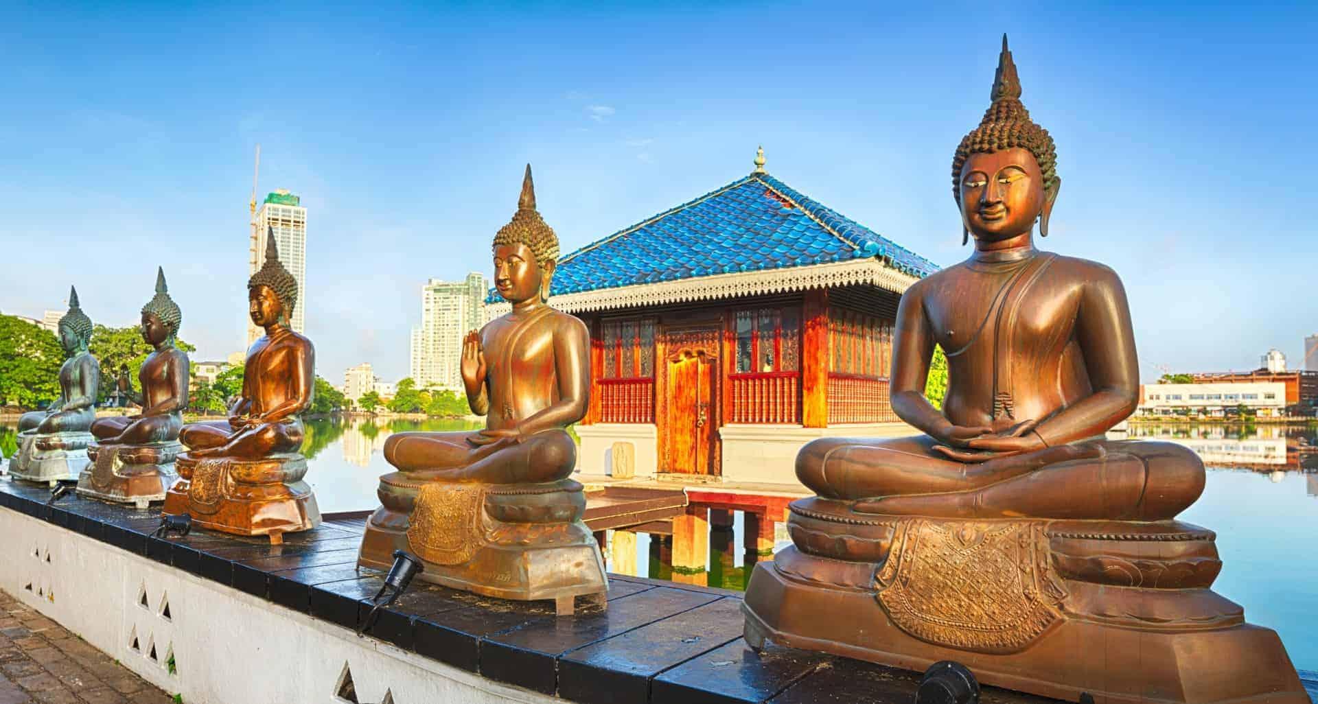 Seema Malaka temple in Colombo Sri Lanka
