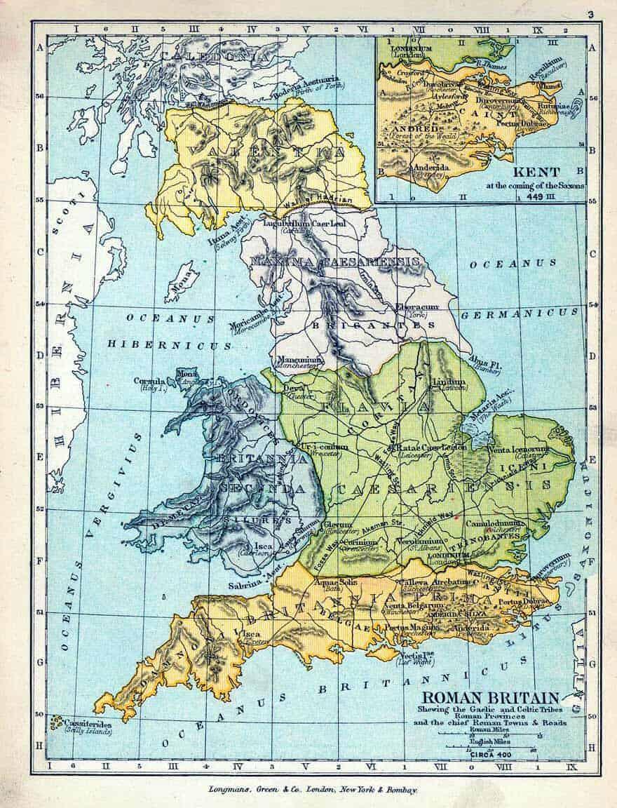 Roman Map Scotland