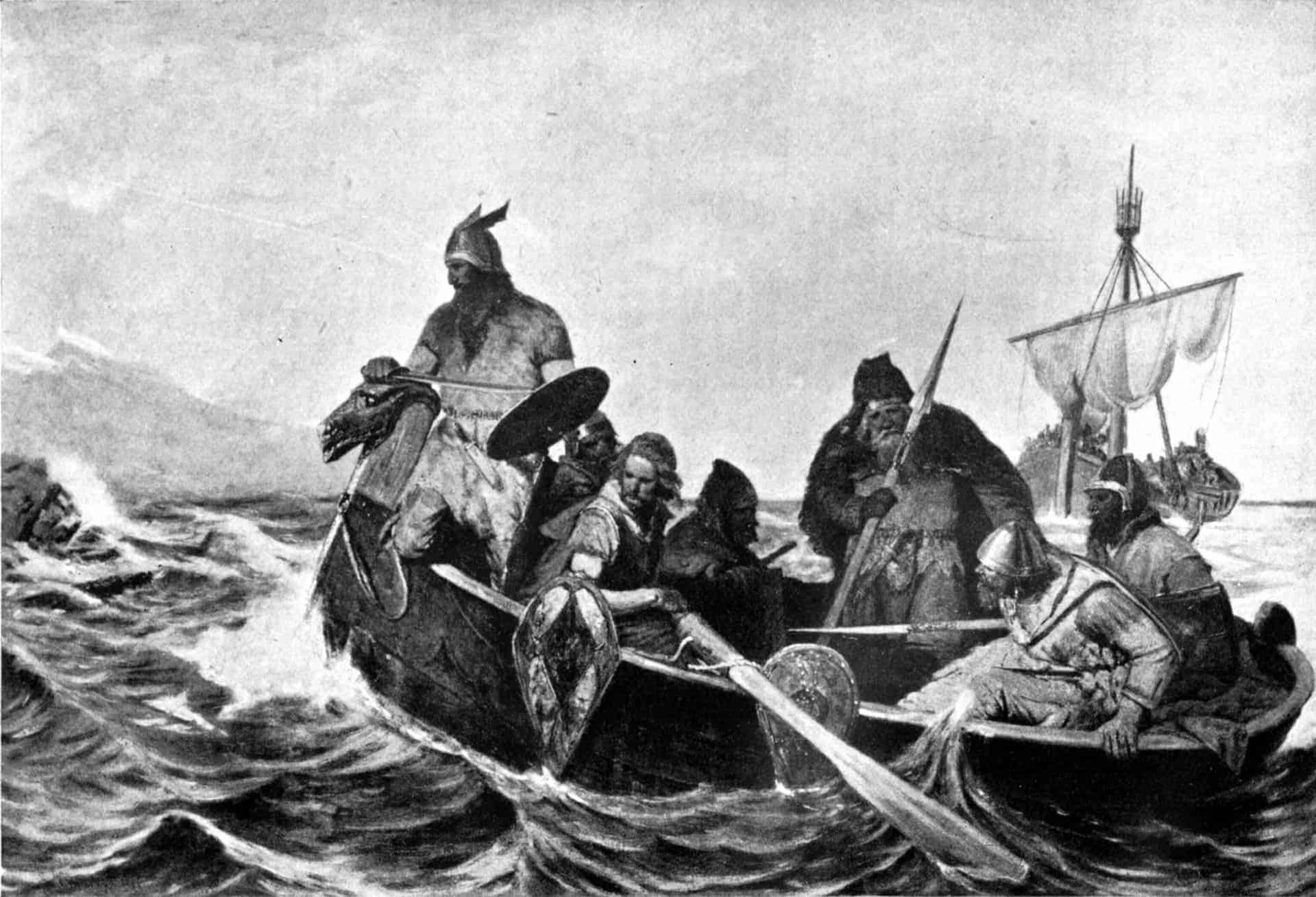 Norsemen Iceland visiting Iceland