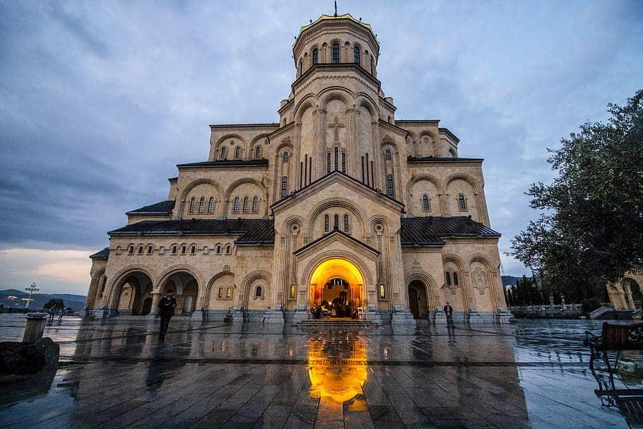 A church in Tbilisi