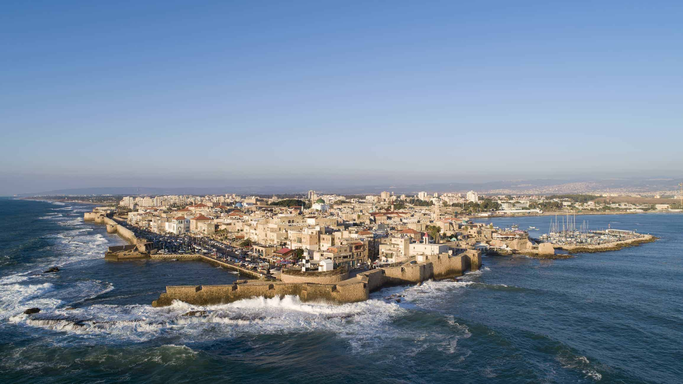 Aerial View of Acre Old City 2