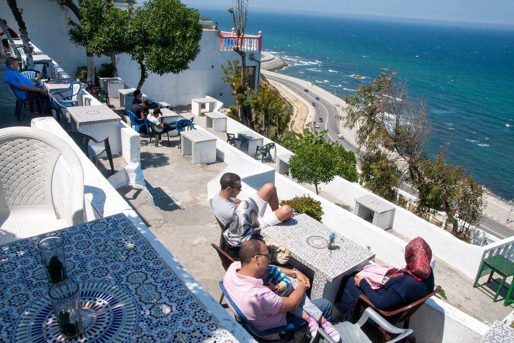 Cafe Hafa, Tangier