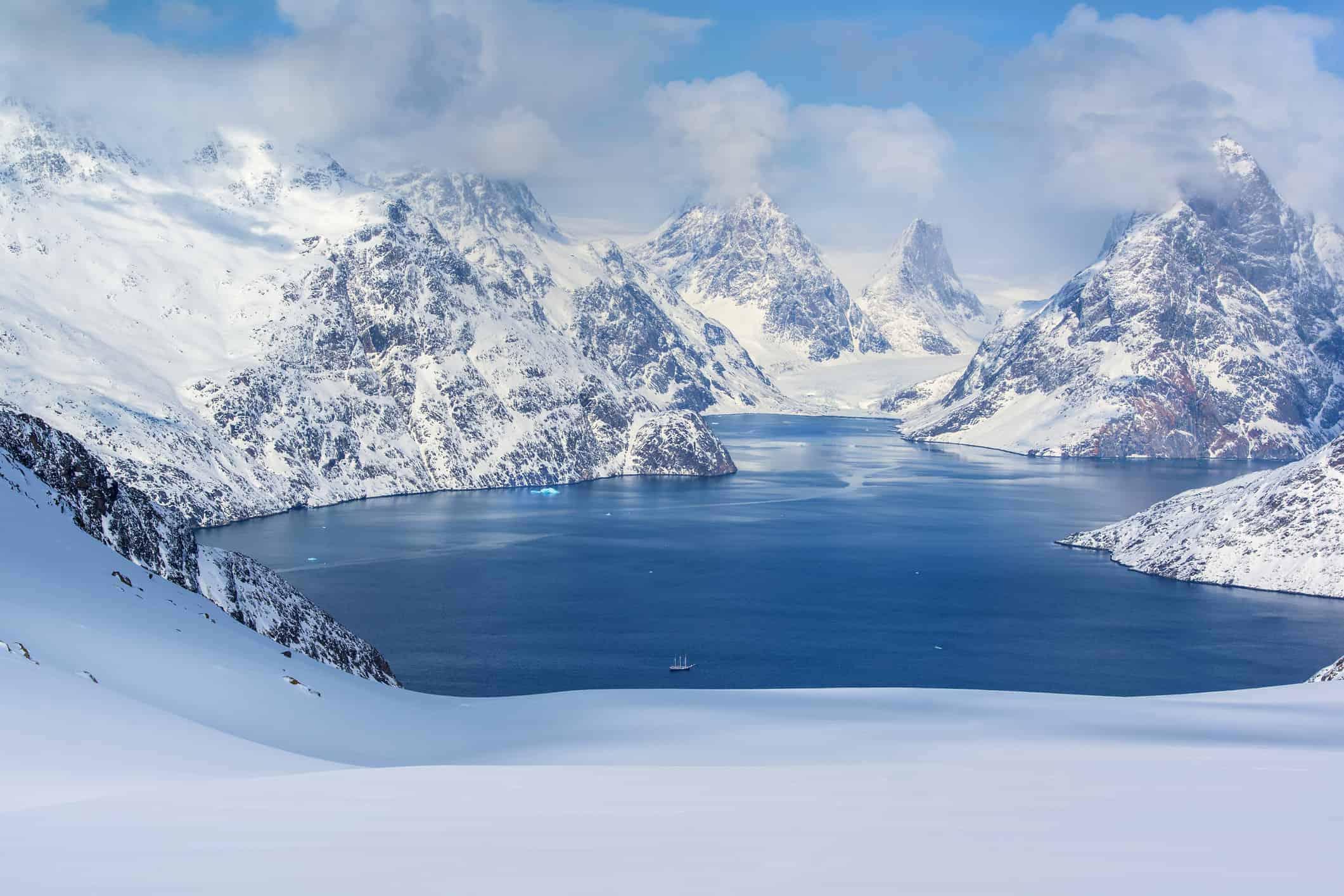 Eternity Fjord Greenland