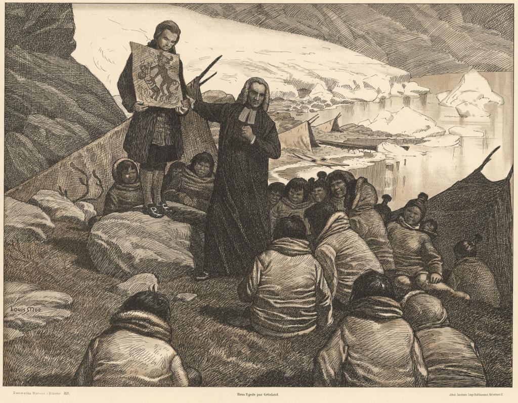 Hans Egede in Greenland
