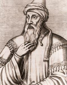 An image of Jewish scholar Maimonides