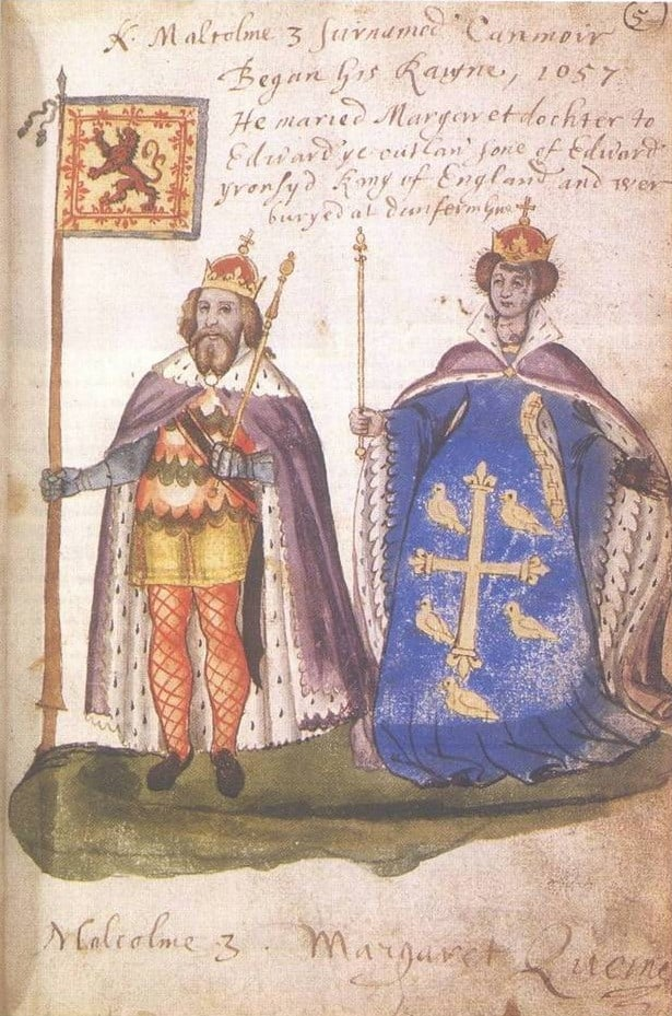 Malcolm III and Queen Margaret