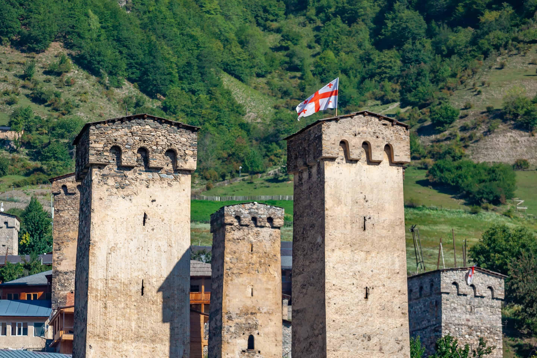 Svaneti Defense Towers