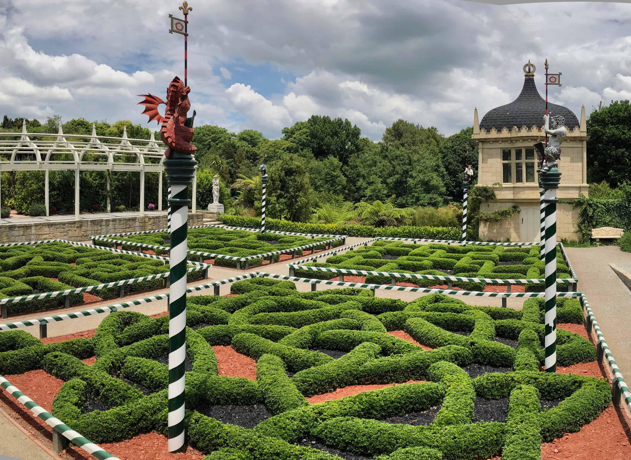 An example of a Tudor Garden