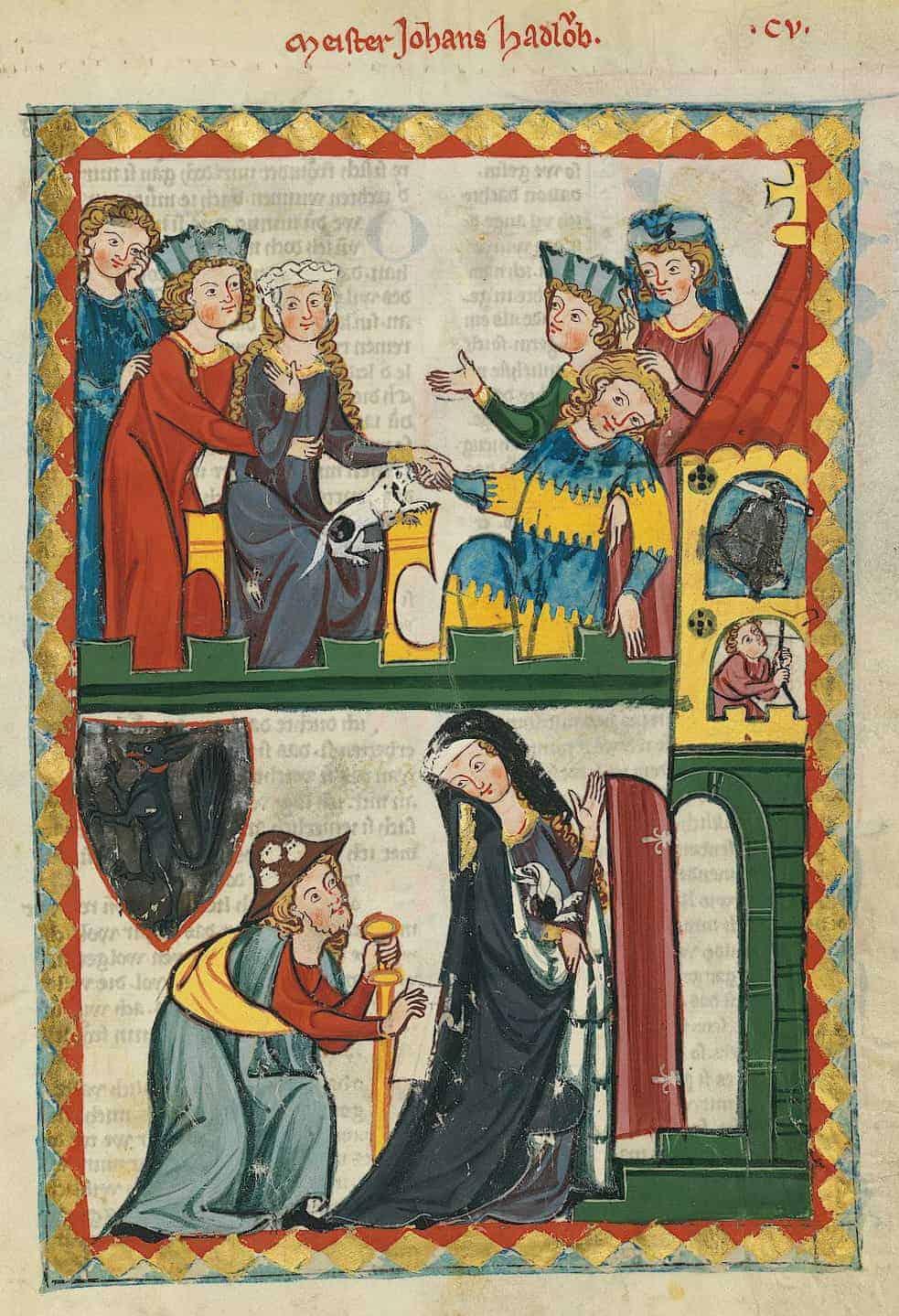 Early 14th century fashion