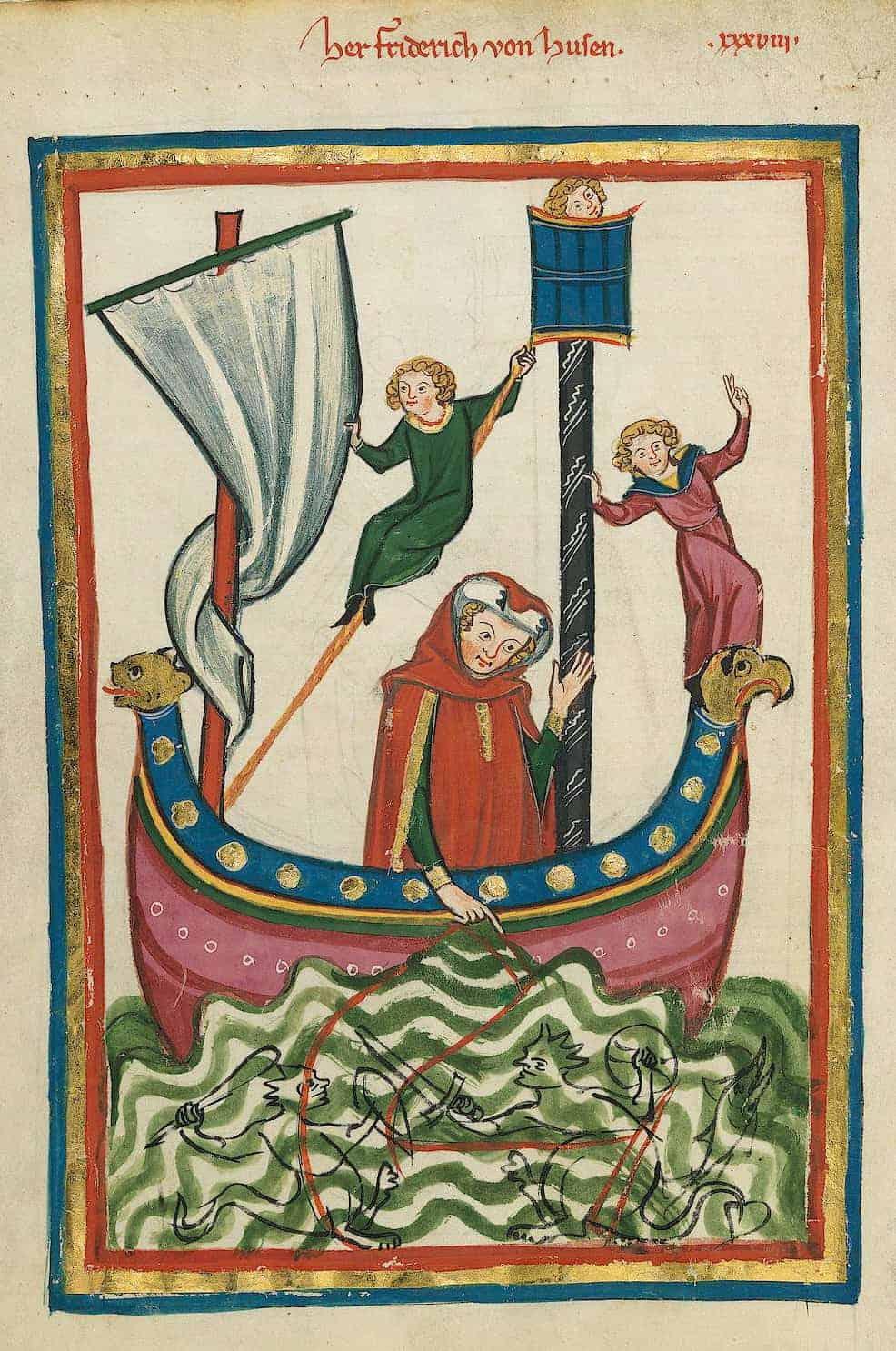 medieval boat